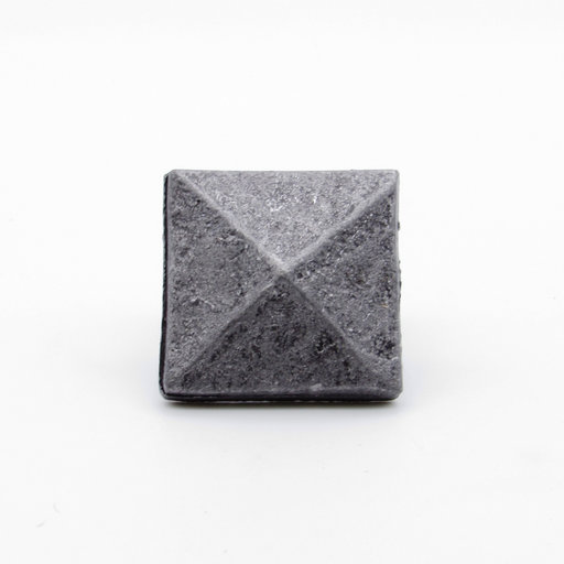 "View a Larger Image of Square 1-1/8"" Clavo Decorative Nail, 4-Pack, Pewter Oxide"