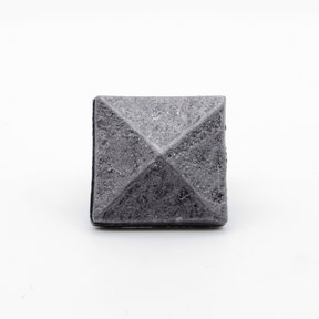 "Square 1-1/8"" Clavo Decorative Nail, 4-Pack, Pewter Oxide"