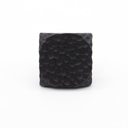 """View a Larger Image of Square 1"""" Hammered Clavo, 8-Pack,  Black Oxide"""