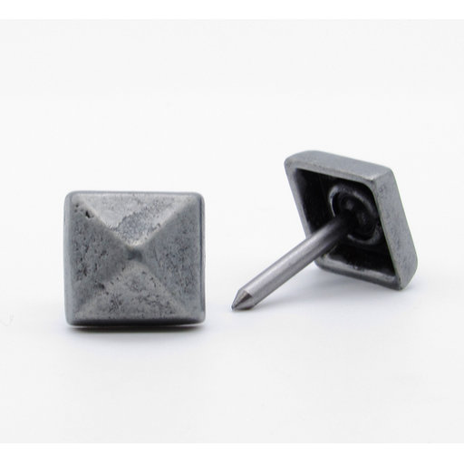 "View a Larger Image of Square 5/8"" Clavo, 4-Pack, Pewter Oxide"