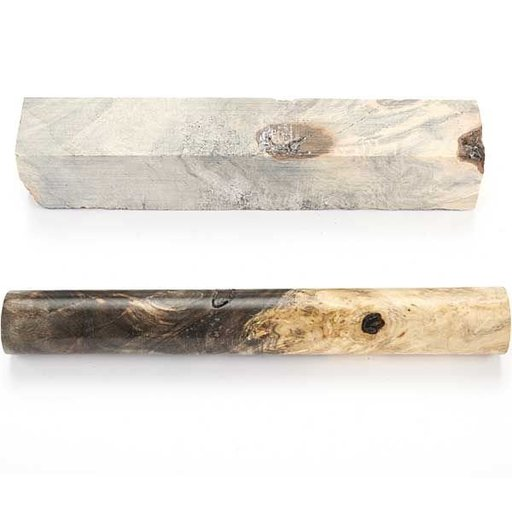 """View a Larger Image of Buckeye Burl 3/4"""" x 3/4"""" x 5"""" Stabilized Wood Pen Blank 1pc"""