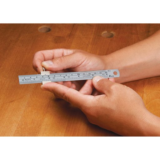 "View a Larger Image of Stainless Steel 6"" Ruler Stop"