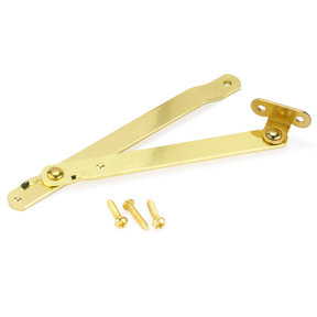 Folding Support Rh, Brass Finish