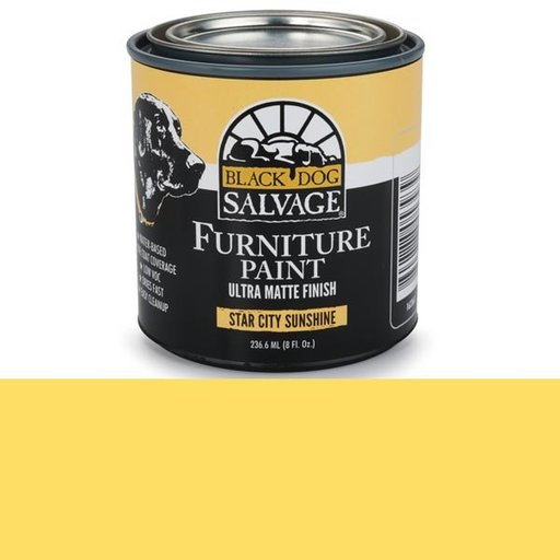 View a Larger Image of Star City Sunshine' - Yellow Furniture Paint, 1/2 Pint 236.6ml (8 fl. Oz.)