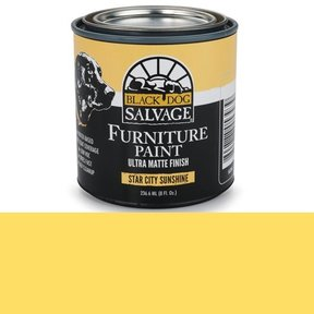 Star City Sunshine' - Yellow Furniture Paint, 1/2 Pint 236.6ml (8 fl. Oz.)