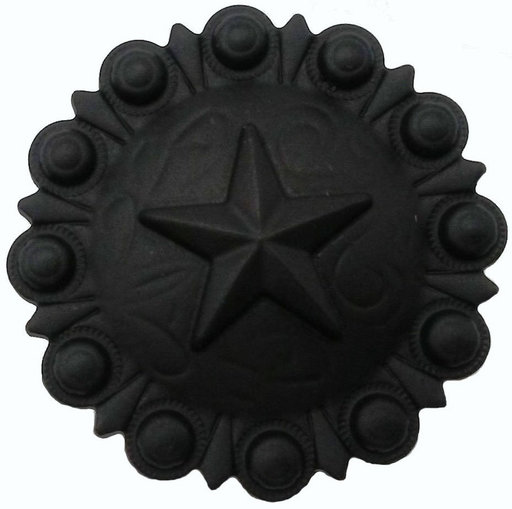 View a Larger Image of Star Conch Knob, Matte Black
