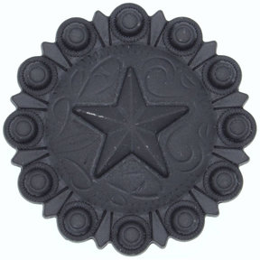 Star Conch Knob, Oil Rubbed Bronze