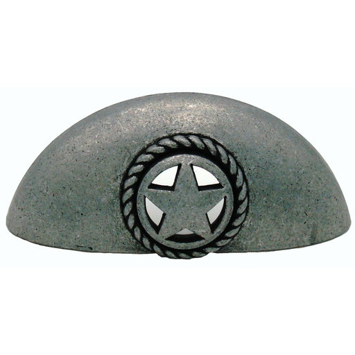 View a Larger Image of Star Cup Pull, Pewter Oxide