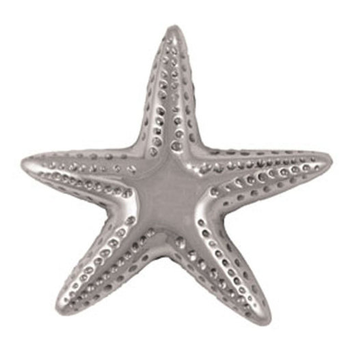 View a Larger Image of Starfish Doorbell Ringer - Nickel Silver
