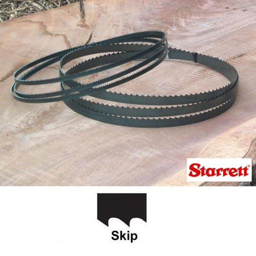 "View a Larger Image of Starrett 116"" Bandsaw Blade 1/4""x.025x6/Skip"