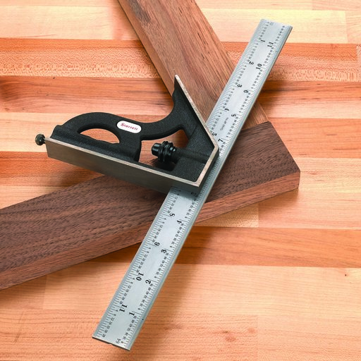 """View a Larger Image of C11H-12-4R 12"""" Combination Square with Square Head"""