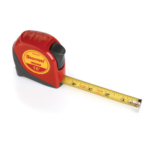 """View a Larger Image of Starrett Tape Measure 3/4"""" x 16' KTX34-16-N"""