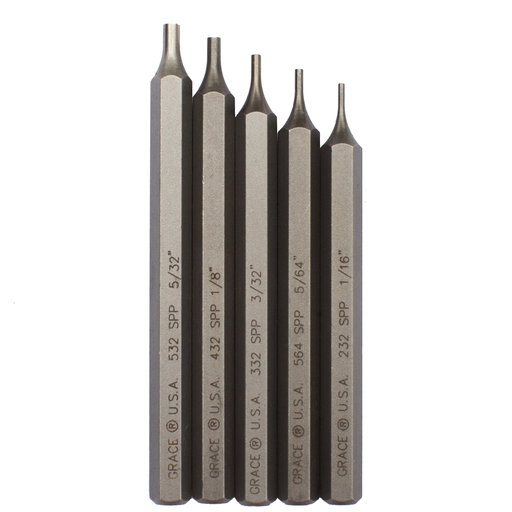 View a Larger Image of Starter Short Pin Punch Set