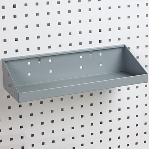"View a Larger Image of Steel Shelf for LocBoard, 18"" x 6-1/2"""