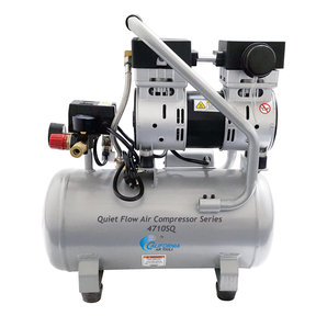 Steel Tank Air Compressor, 4710SQ, Quiet Flow 1.0 Hp, 4.7 gallon