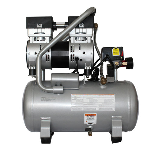 View a Larger Image of Steel Tank Air Compressor, 4710SQ, Quiet Flow 1.0 Hp, 4.7 gallon