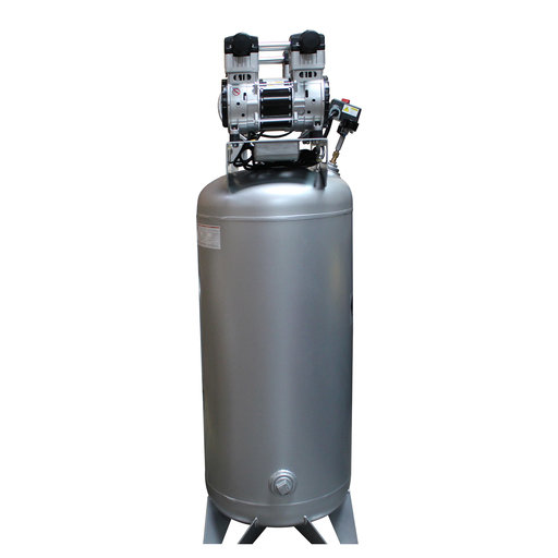 View a Larger Image of Steel Tank Air Compressor Automatic Drain Valve, 60040CAD, Ultra Quiet  & Oil-Free, 4.0 Hp, 60 gallon