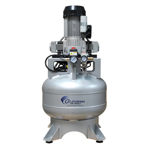 View a Larger Image of Steel Tank Continuous Air Compressor,  15020CR, Ultra Quiet  & Oil-Free,  2.0 Hp, 15 gallon