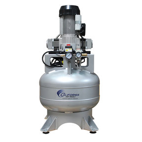 Steel Tank Continuous Air Compressor,  15020CR, Ultra Quiet  & Oil-Free,  2.0 Hp, 15 gallon