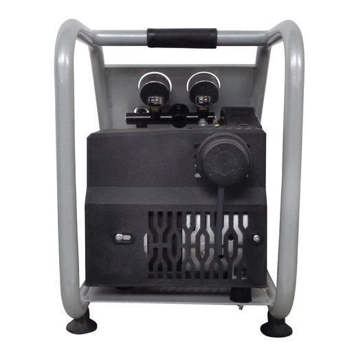 View a Larger Image of Steel Tank Portable Air Compressor, 1P1060SP, Light & Quiet, .6 Hp, 1 gallon