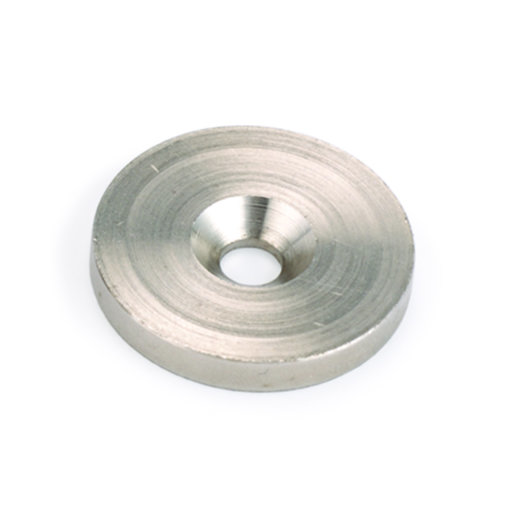 "View a Larger Image of Steel Washers 1 1/8"" O.D. For Rare Earth Magnets 6pc w/ #10 x 5/8"" Screws"