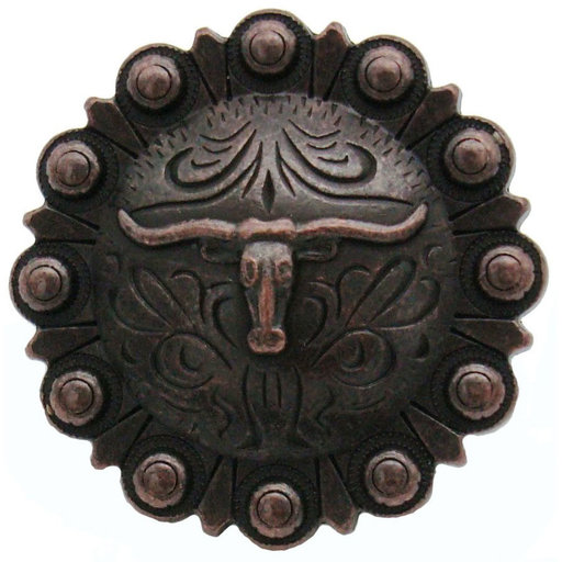 View a Larger Image of Steer in Round, Oil Rubbed Bronze