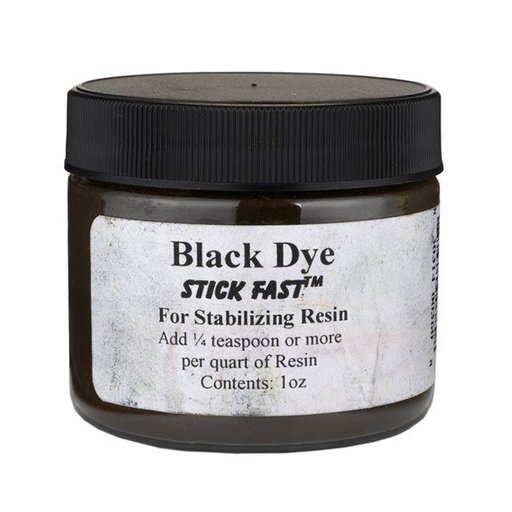 View a Larger Image of Stick Fast Black Powder Dye for Stabilizing Resin