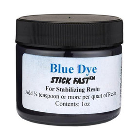 Stick Fast Blue Powder Dye for Stabilizing Resin
