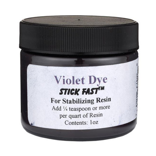 View a Larger Image of Stick Fast Violet Powder Dye for Stabilizing Resin