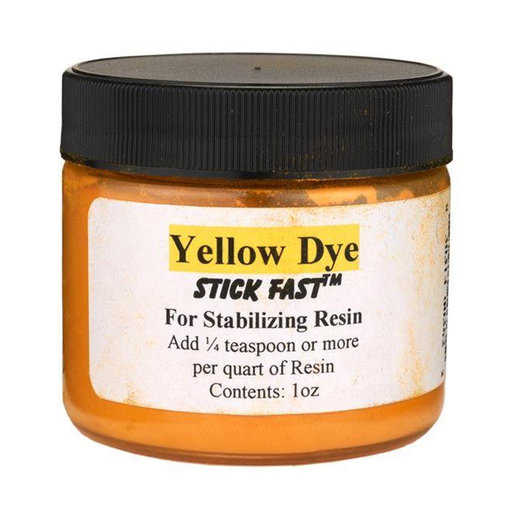 View a Larger Image of Stick Fast Yellow Powder Dye for Stabilizing Resin