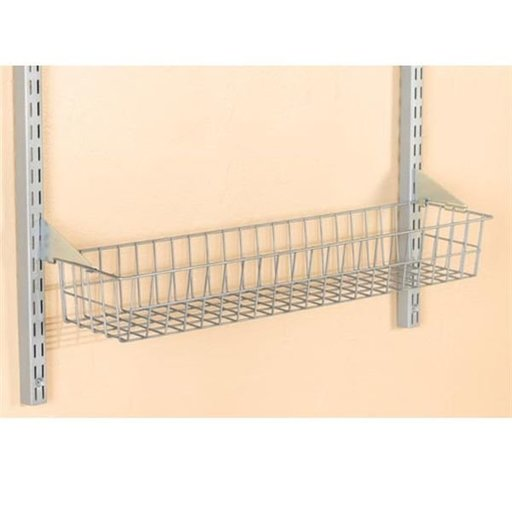 "View a Larger Image of Storability 31"" Wire Basket with LockOn Brackets, Model 1715"
