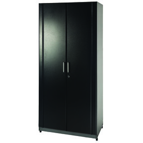 Storage Cabinet 2-Door, Black