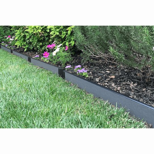 "View a Larger Image of  Straight Landscape Edging Kit 16' - 1"" profile"