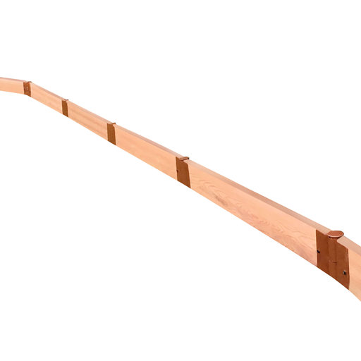 """View a Larger Image of Classic Sienna Straight Landscape Edging Kit 16' - 2"""" profile"""