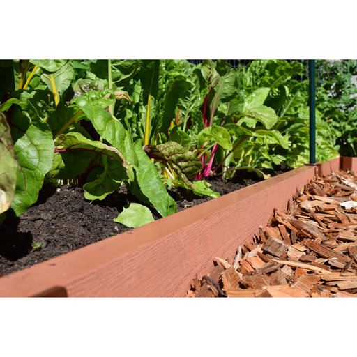 """View a Larger Image of Straight Landscape Edging Kit 16' - 2"""" profile"""