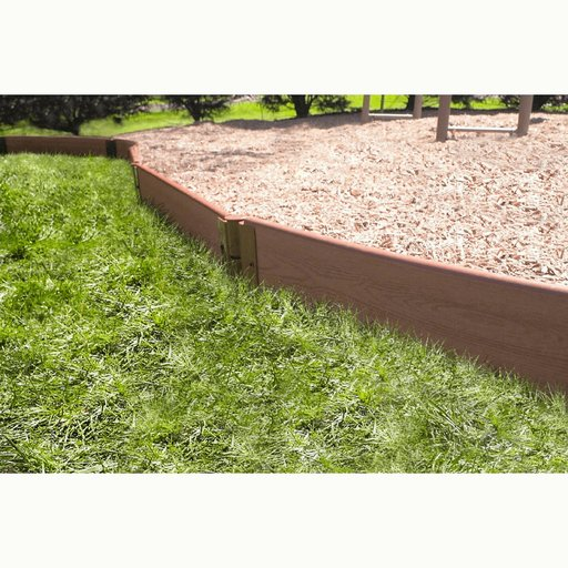 "View a Larger Image of Classic Sienna Straight Playground Border 16' – 1"" profile"