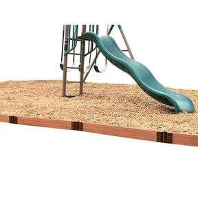 "Straight Playground Border 16' – 2"" profile"
