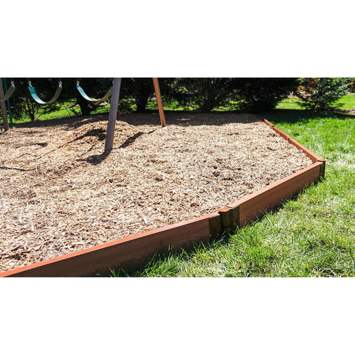 """View a Larger Image of Straight Playground Border 16' – 2"""" profile"""