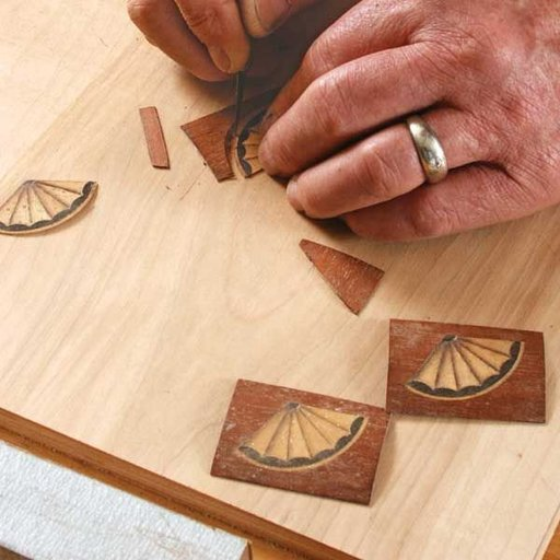 View a Larger Image of String Inlay - Downloadable Technique
