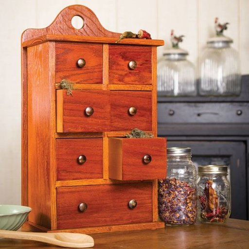 View a Larger Image of Sugar and Spice Cabinet - Downloadable Plan