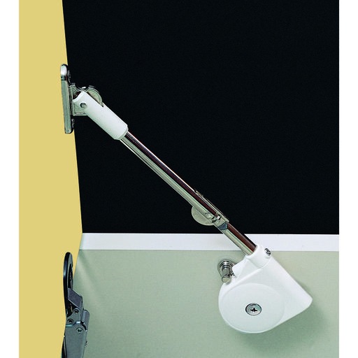 View a Larger Image of Adjustable Soft Down Lid Stay Model SDS-C301N, White