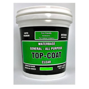 Super Premium General All Purpose Top-Coat Flate-Matte Mini Half Pint