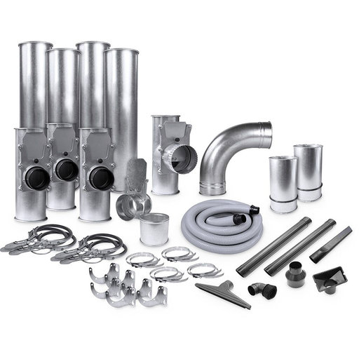 "View a Larger Image of Supercell 4""/2.5"" Quick-Clamp Ductwork Kit"