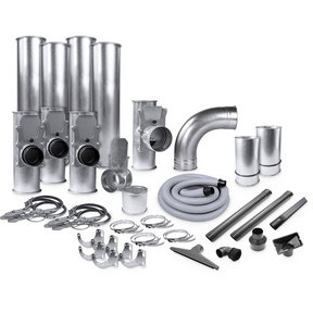 "Supercell 4""/2.5"" Quick-Clamp Ductwork Kit"