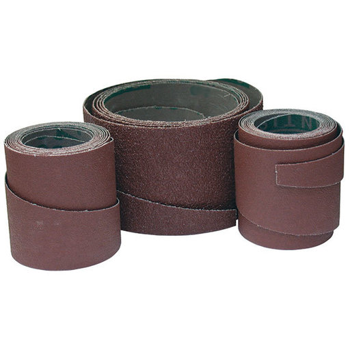 View a Larger Image of 120 Grit Pre-Cut Abrasive Wraps for 19-38 Sanders, 3 Pack
