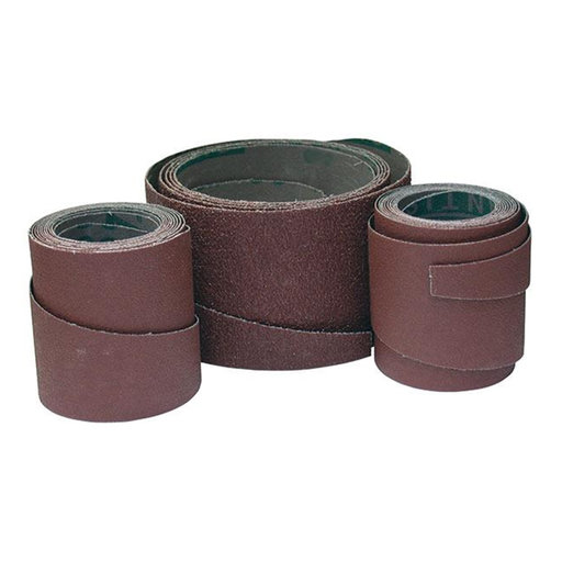 View a Larger Image of 36 Grit Pre-Cut Abrasive Wraps for 19-38 Sanders, 3 Pack