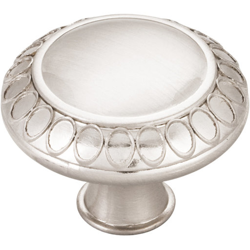 "View a Larger Image of Symphony Knob, 1-3/8"" Dia.,  Satin Nickel"