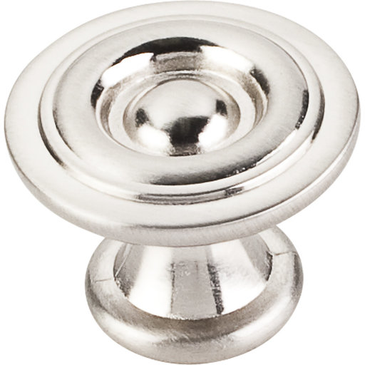 "View a Larger Image of Syracuse Knob, 1-3/16"" O.L., Satin Nickel"