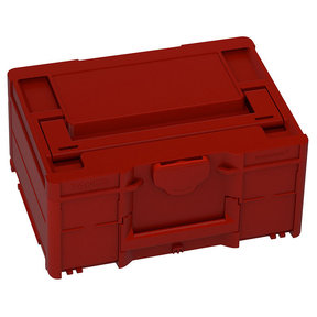 Systainer³ M 187 Storage Container, Carmine Red