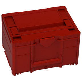 Systainer³ M 237 Storage Container, Carmine Red